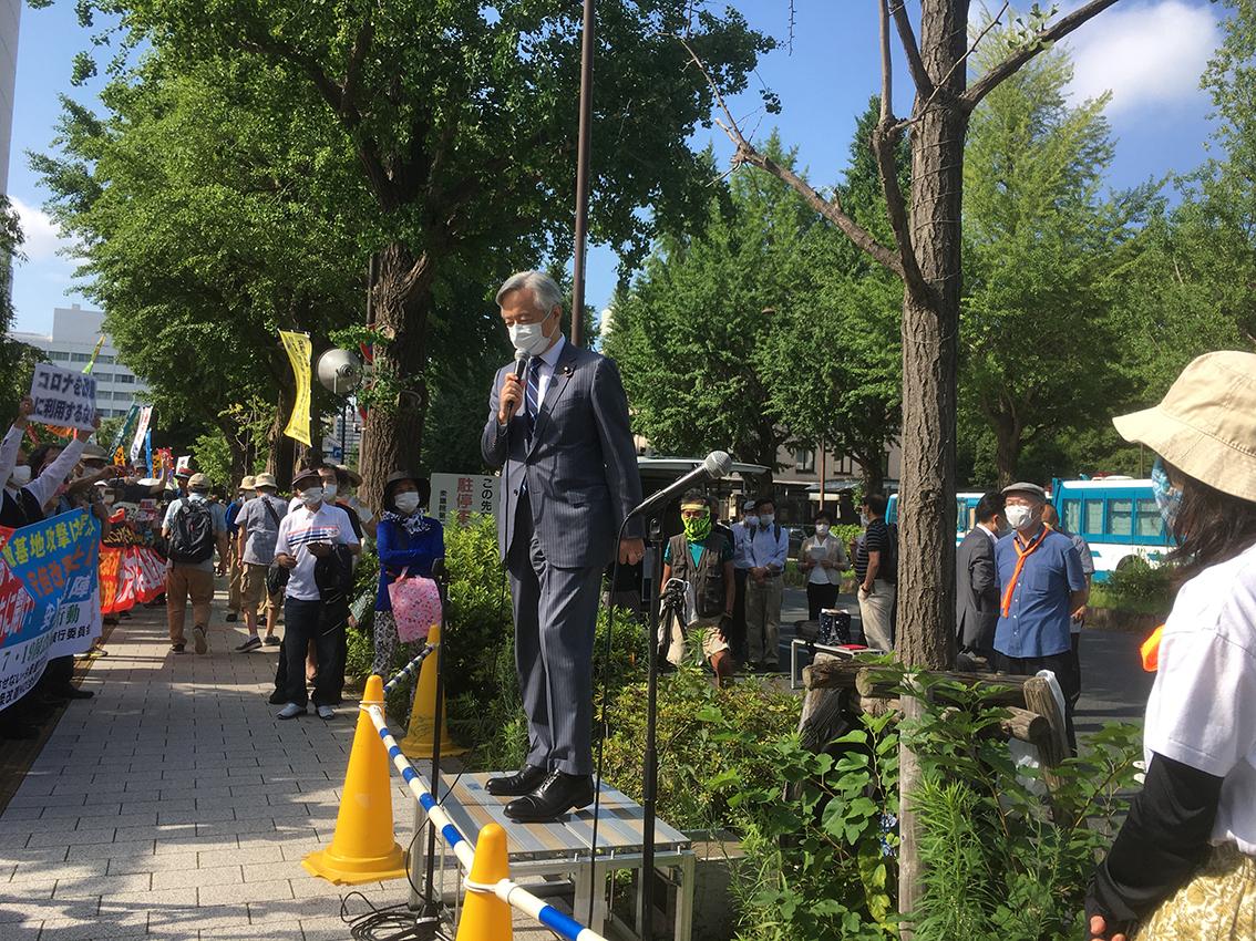 7.19議員会館前抗議行動