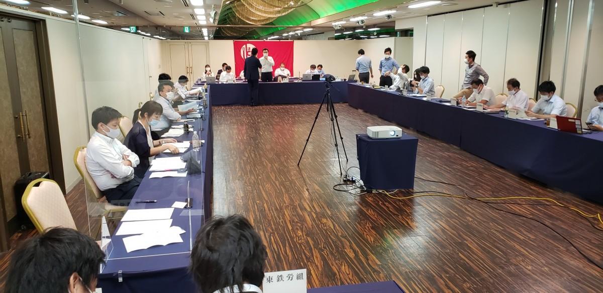 9.18 日建協書記長会議 ホテルラングウッド