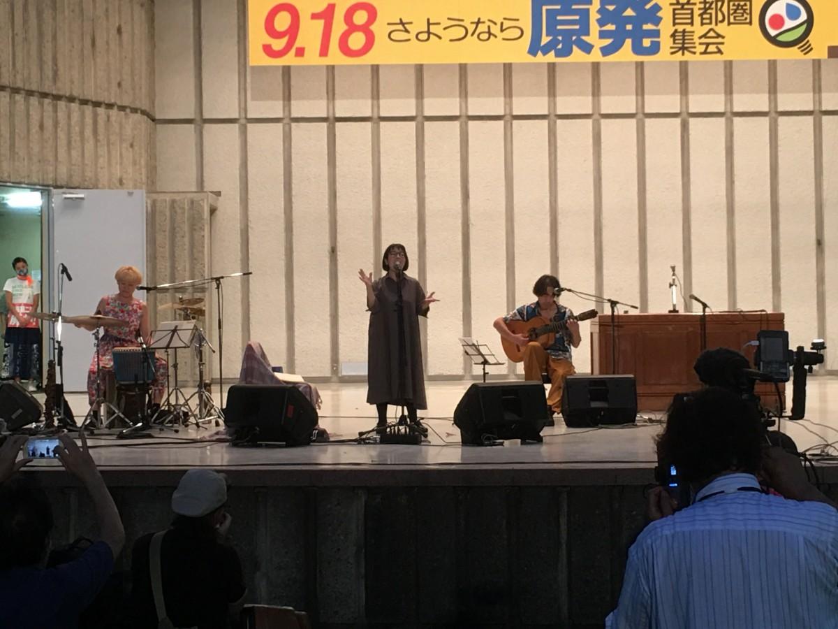 """9.18""""さようなら原発""""首都圏集会"""