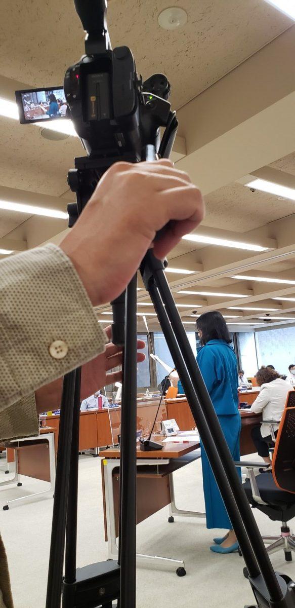 10.6 港区議会 決算特別委員会映像収録