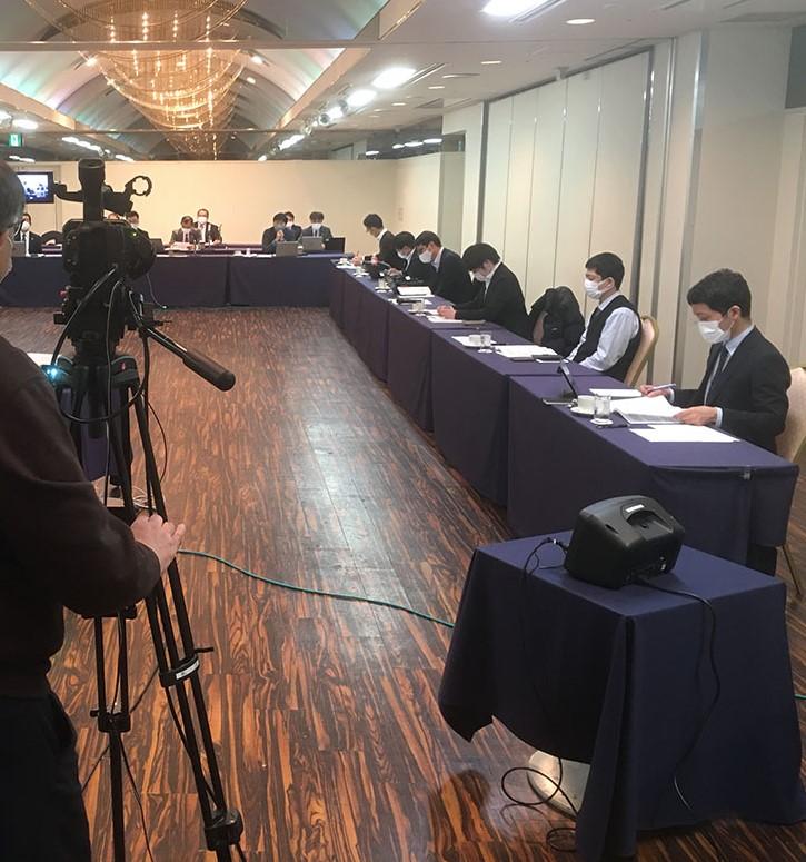 """3.5 ホテルラングウッド""""日建協書記長会議""""ZOOM配信サポート"""