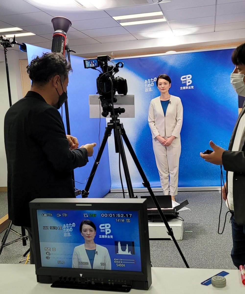 衆院選、最後の政見収録東京第8区『吉田はるみ』
